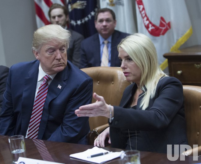 Trump Meets with State and Local Officials on School Safety