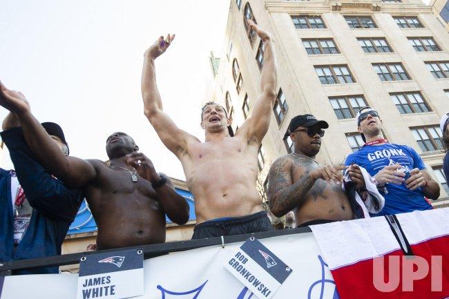 Patriots celebrate Super Bowl LIII win with parade