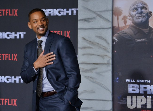 """Will Smith attends the """"Bright"""" premiere in Los Angeles"""