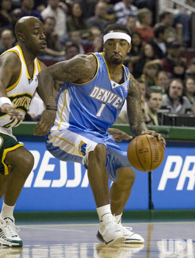 Denver Nuggets vs Seattle SuperSonics