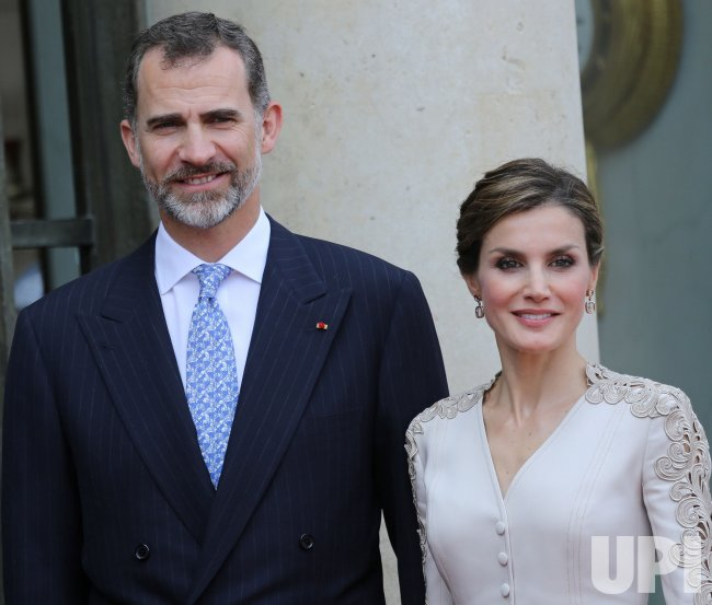 King and Queen of Spain in Paris for State Visit