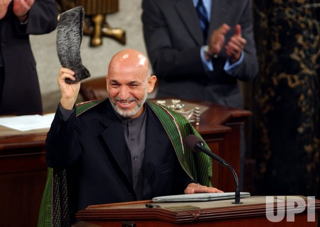 PRESIDENT HAMID KARZAI ADDRESSES CONGRESS