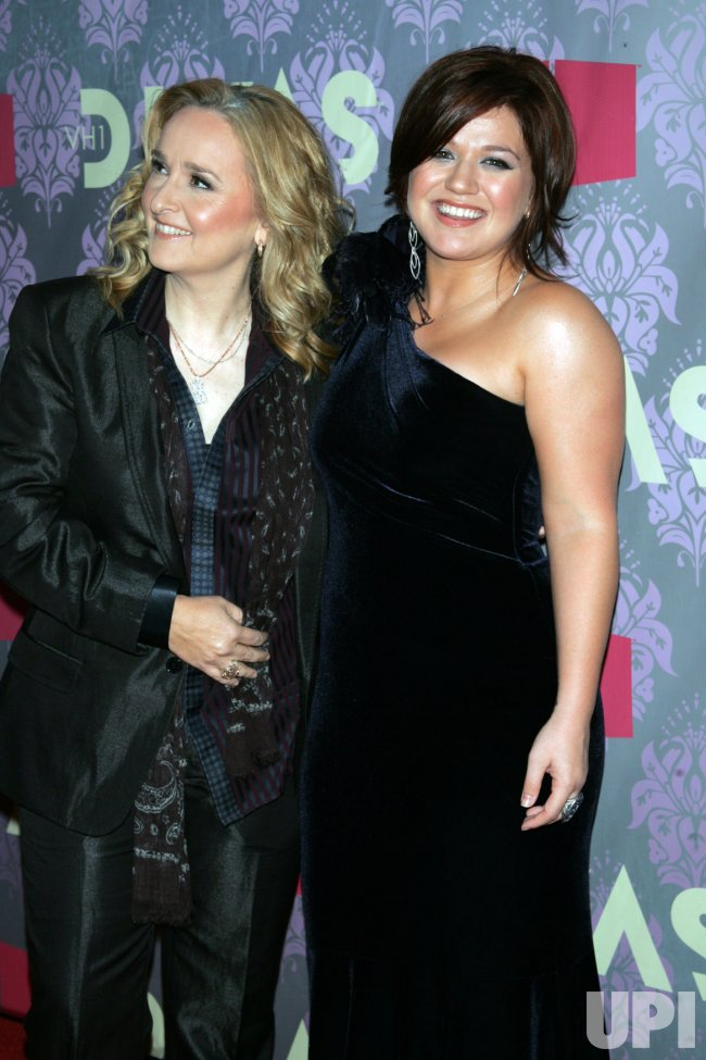 Kelly Clarkson and Melissa Etheridge arrive for the VH1 Divas in Brooklyn, New York
