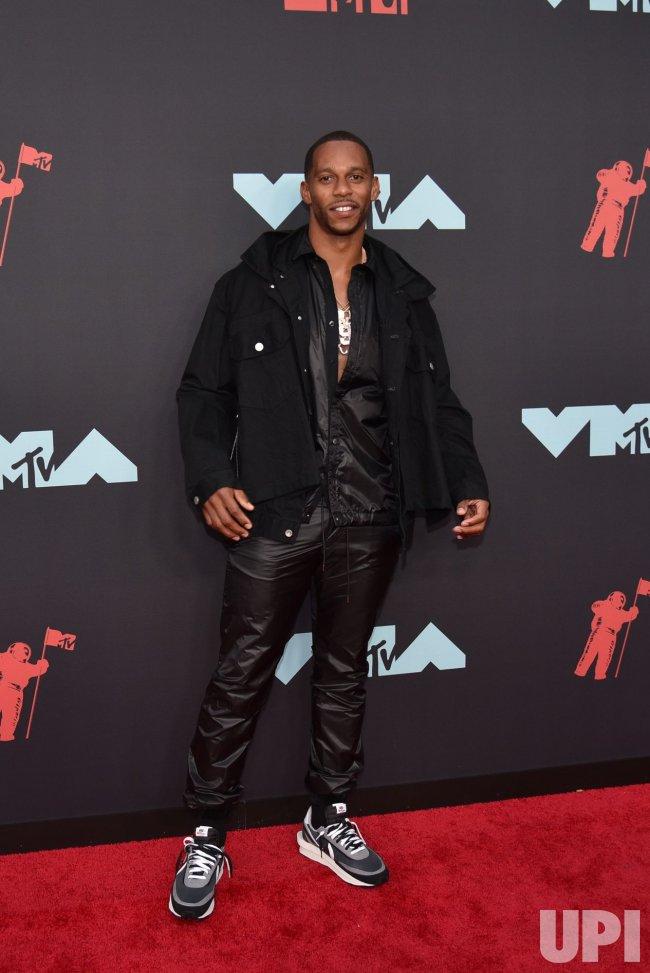 Victor Cruz at the MTV Video Music Awards