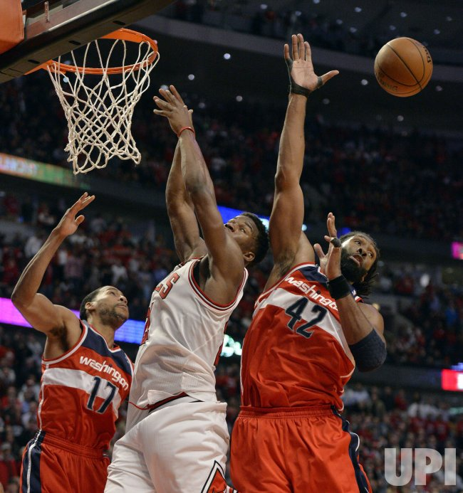 Washington Wizards Play Chicago Bulls In Game 5 Of Eastern