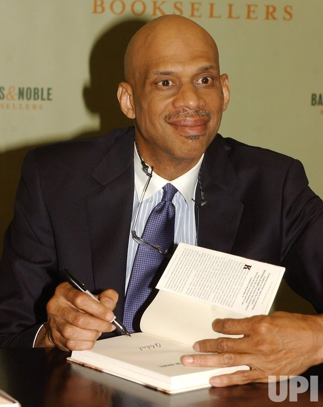 "KAREEM ABDUL JABBAR BOOK LAUNCH ""BROTHERS IN ARMS"""