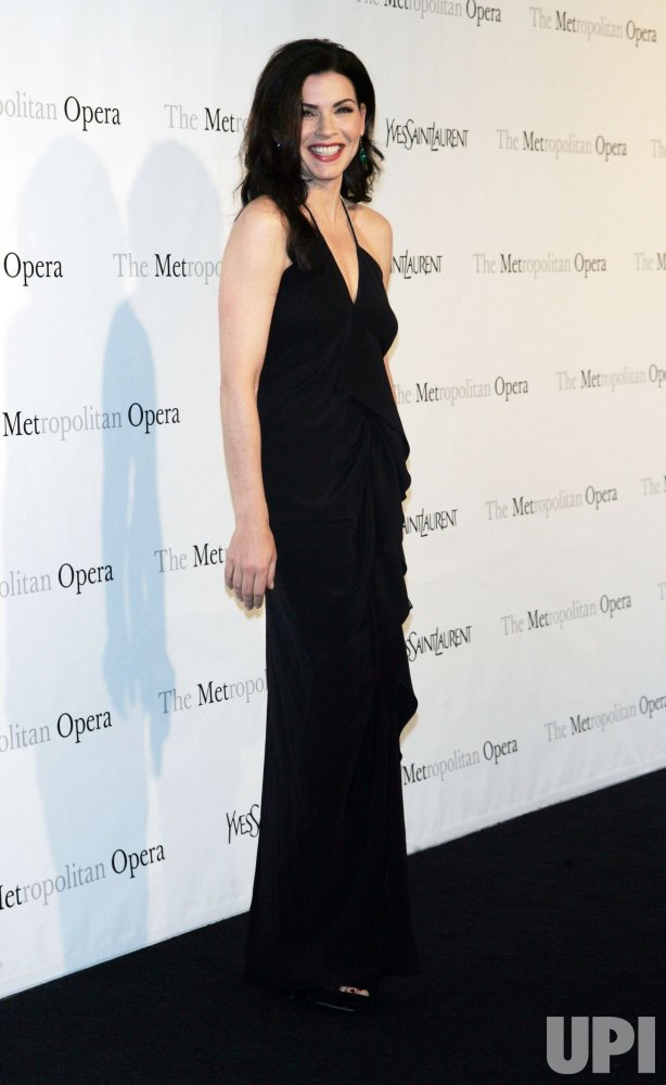 "Julianna Margulies arrives for the Metropolitan Opera's Premiere of ""Armida"" in New York"
