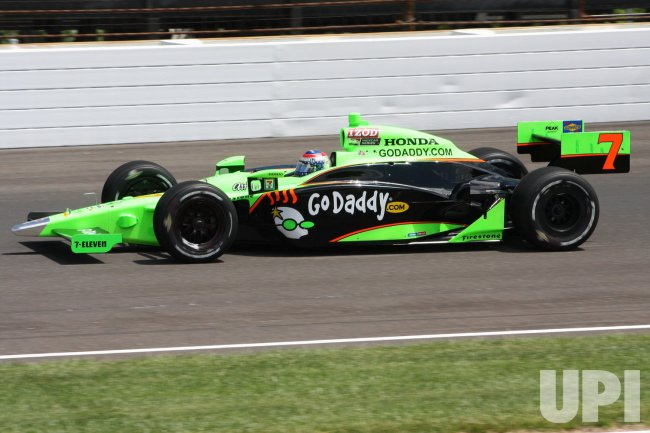 Danica Patrick Is Back for her 7th Race at the Indianapolis Motor Speedway, in Indianapolis, Indiana
