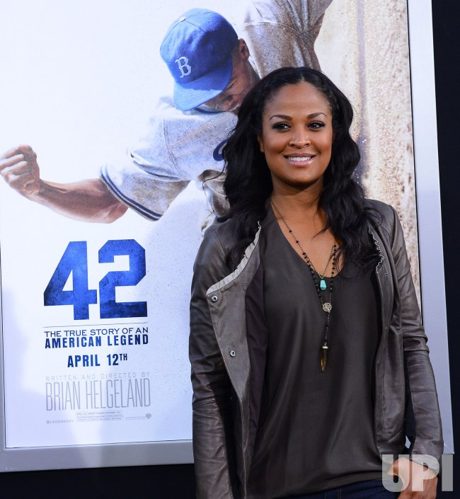 """""""42"""" Premieres at the TCL Chinese Theatre in the Hollywood section of Los Angeles"""