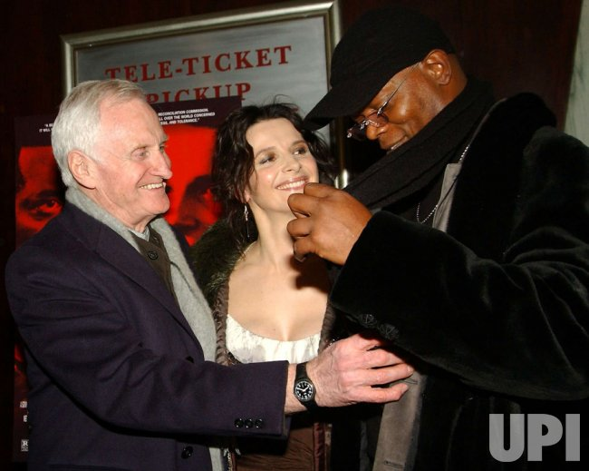 "SAMUEL JACKSON-JULIETTE BINOCHE FILM PREMIERE ""IN MY COUNTRY"""
