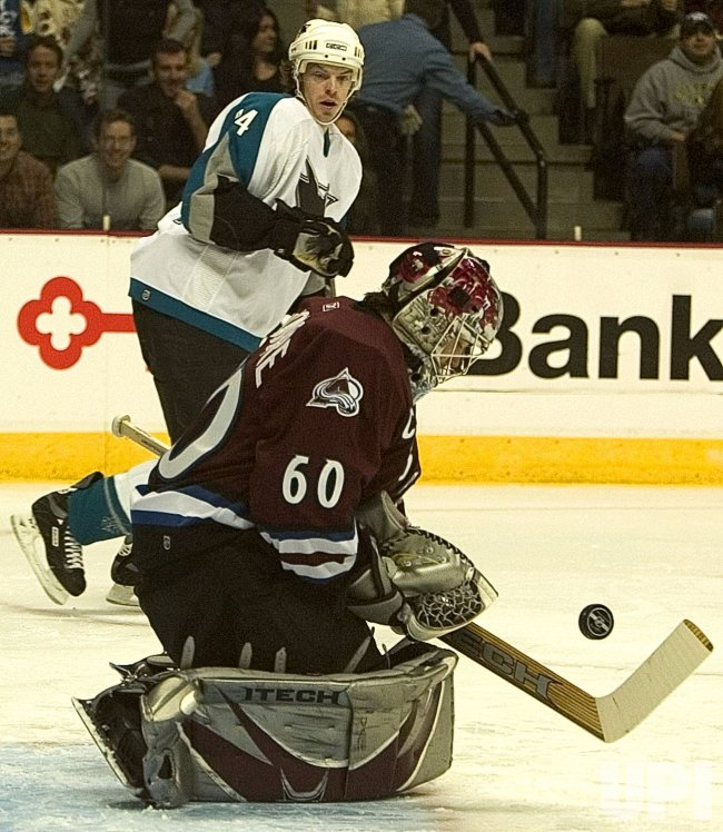 SAN JOSE SHARKS VS COLORADO AVALANCHE