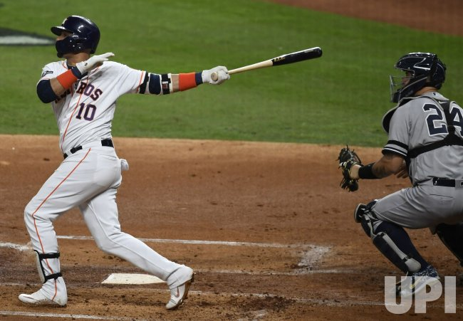 Astros Gurriel homers in first in ALCS in Houston