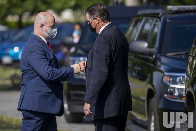 U.S. President Joe Biden returns to the White House from Delaware