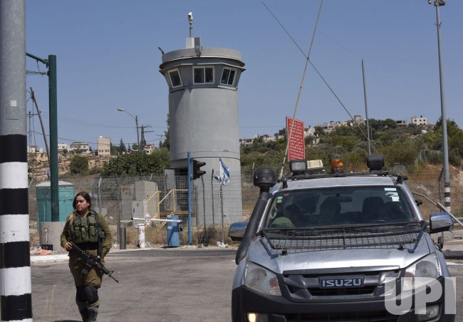 An Israeli Military Guard Tower Stands Near The Family Home Of Congress Woman Rashida Tlaib