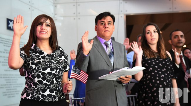 Naturalization Ceremony at the Smithsonian in Washington