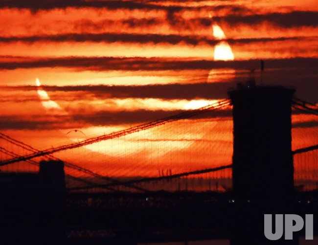 Partial Solar Eclipse in New York City