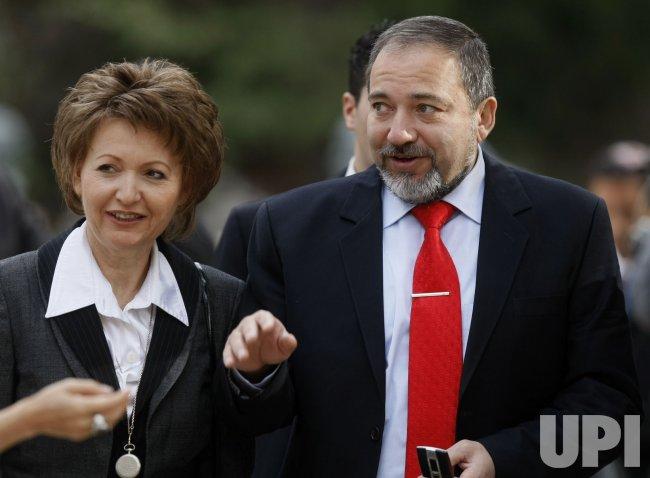 Israeli Prime Minister change of power ceremony in Jerusalem