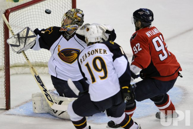 NHL Atlanta Thrashers at Washington Capitals