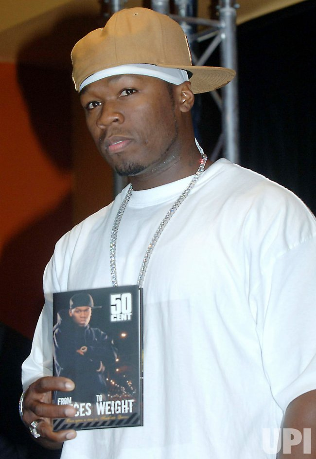 RAPPER 50 CENT PUBLISHES HIS AUTOBIOGRAPHY