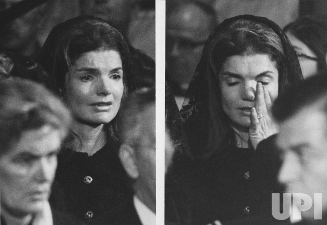 Jacqueline Kennedy Onassis Breaks Into Tears During