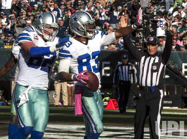 Dallas Cowboys-Philadellphia Eagles NFL football, Game #5