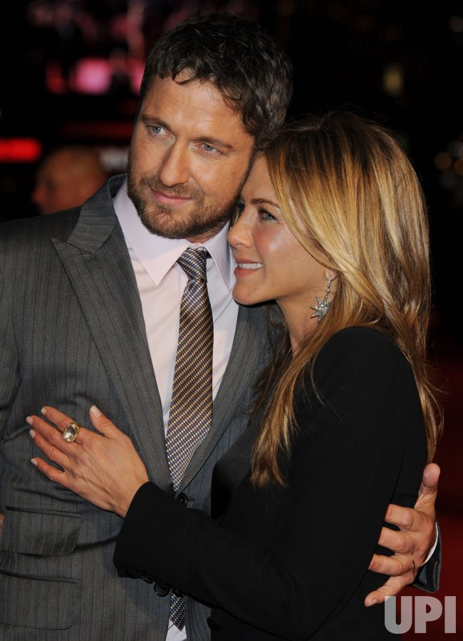 "Jennifer Aniston and Gerard Butler attend ""The Bounty Hunter"" premiere"