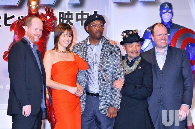 """""""The Avengers"""" Japan Premiere"""