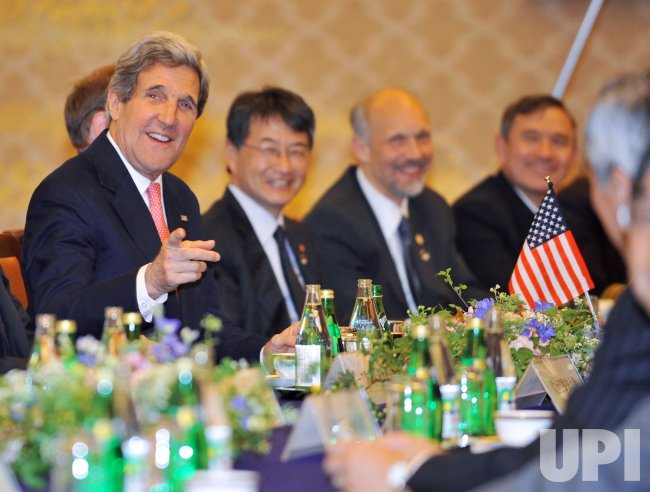 Secretary John Kerry visits Japan.