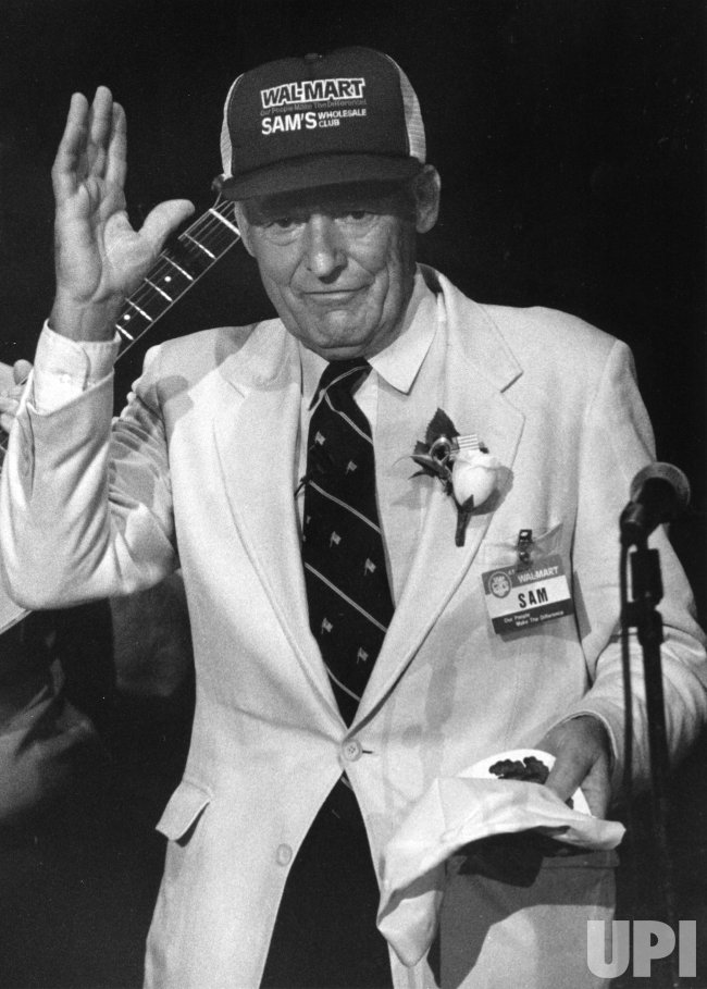 """a biography of sam walton the founder of wal mart Sam+walton 1 made in america:sam walton 1 sam walton made in america by sahil jain 2 introduction • samuel moore walton (march 29,1918-april 6,1992) • founder of wal-mart • declared """"richest man in."""