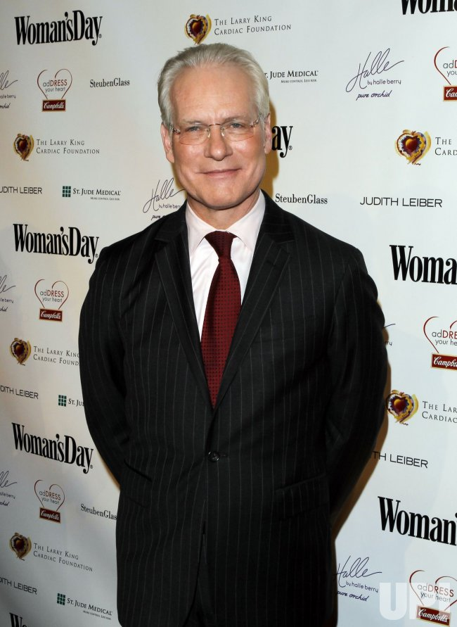 "Tim Gunn arrives at the seventh annual ""Red Dress Awards"" at Lincoln Center in New York"