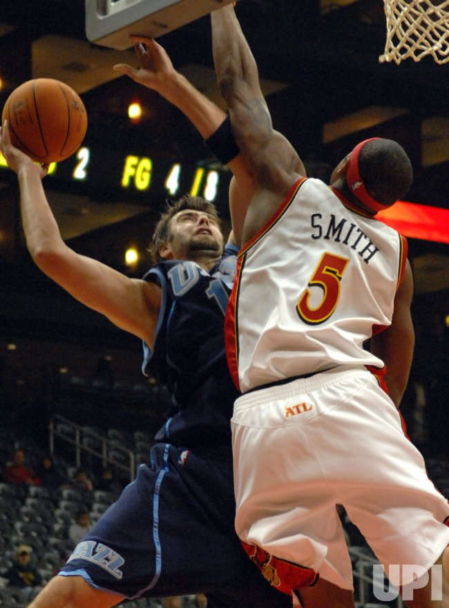 ATLANTA HAWKS VS UTAH JAZZ