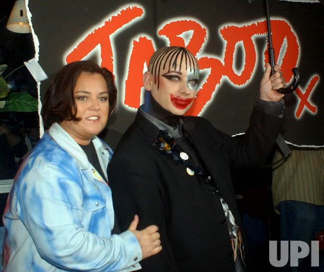 "Rosie O'Donnell to produce Boy George musical ""Taboo"" on Broadway"
