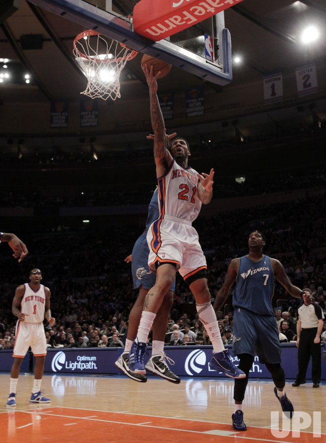 New York Knicks Wilson Chandler at Madison Square Garden in New York