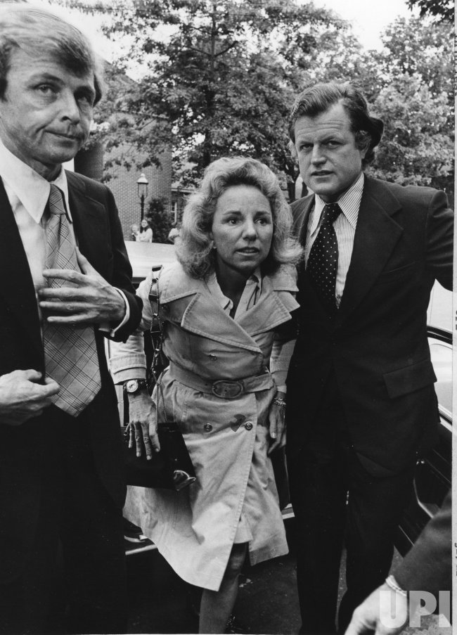 Mrs. Ethel Kennedy goes to court to attend son's Joseph's trial on negligent driving