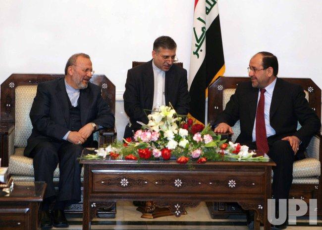 Iran's Foreign Minister Manouchehr Mottaki visits Iraq