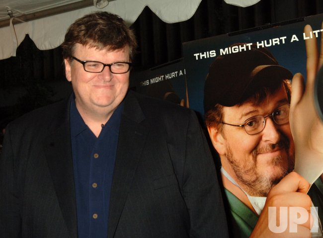 "MICHAEL MOORE FILM DOCUMENTARY ""SICKO"" OPENS IN NEW YORK"