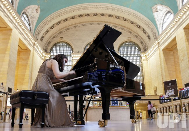 Performances on a Steinway Piano in Grand Central Terminal