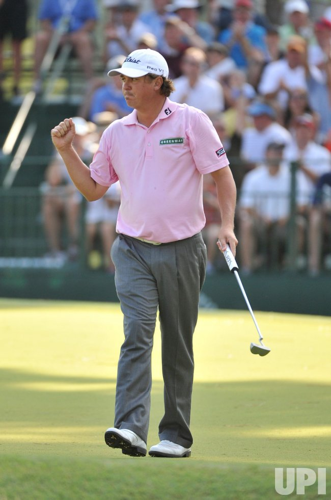 Dufner Birdies 13th hole at 93rd PGA Championship
