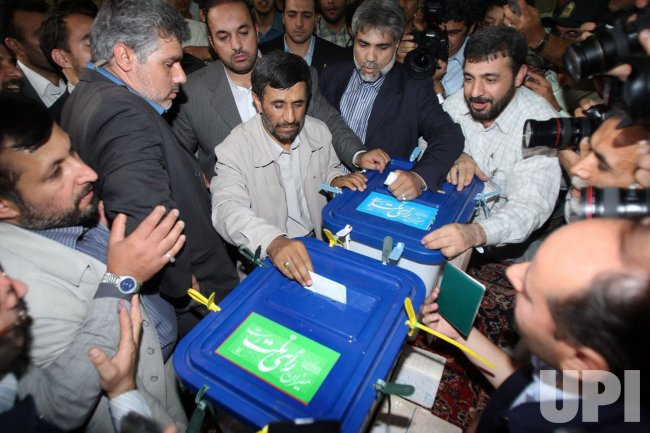 Iranians vote vote in pivotal presidential election in Tehran