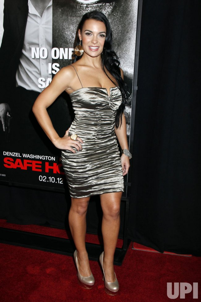 Krista Ayne Arrives For The Safe House Premiere In New York