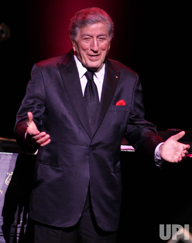 Tony Bennett performs in concert in Fort Lauderdale