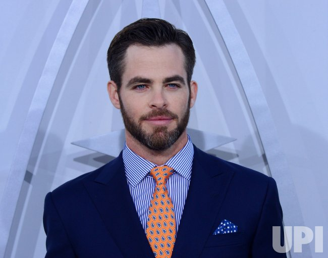 "Chris Pine attends the ""Star Trek into Darkness"" premiere in Los Angeles"