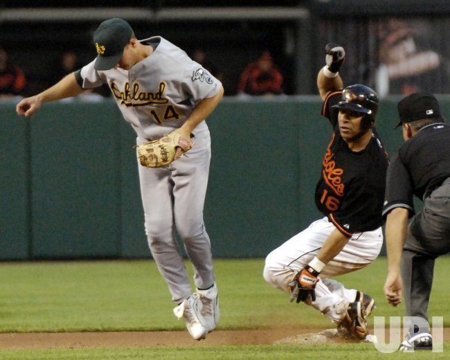 OAKLAND ATHLETCS VS BALTIMORE ORIOLES