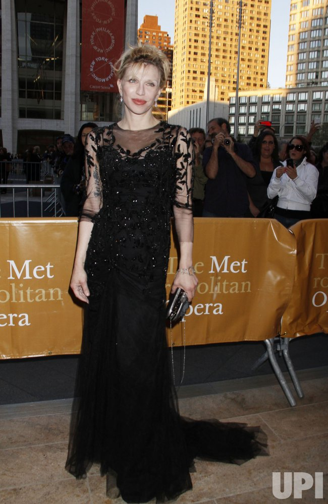 "Arrivals at the Metropolitan Opera Season Opening with Donizetti's ""L'Elisir D'Amore"" in New York"