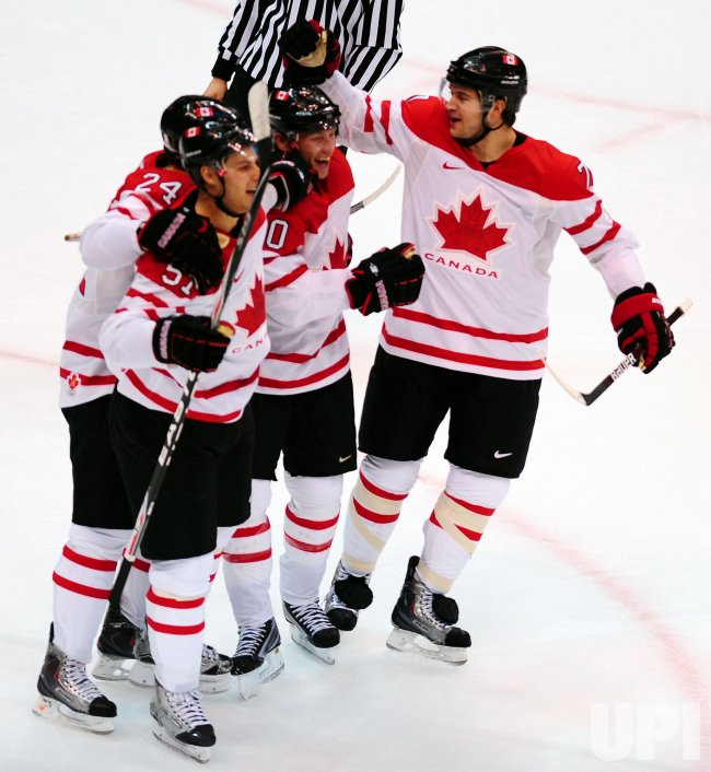 Canada vs. Slovakia Semifinals Men's Ice Hockey at 2010 Winter Olympics in Vancouver