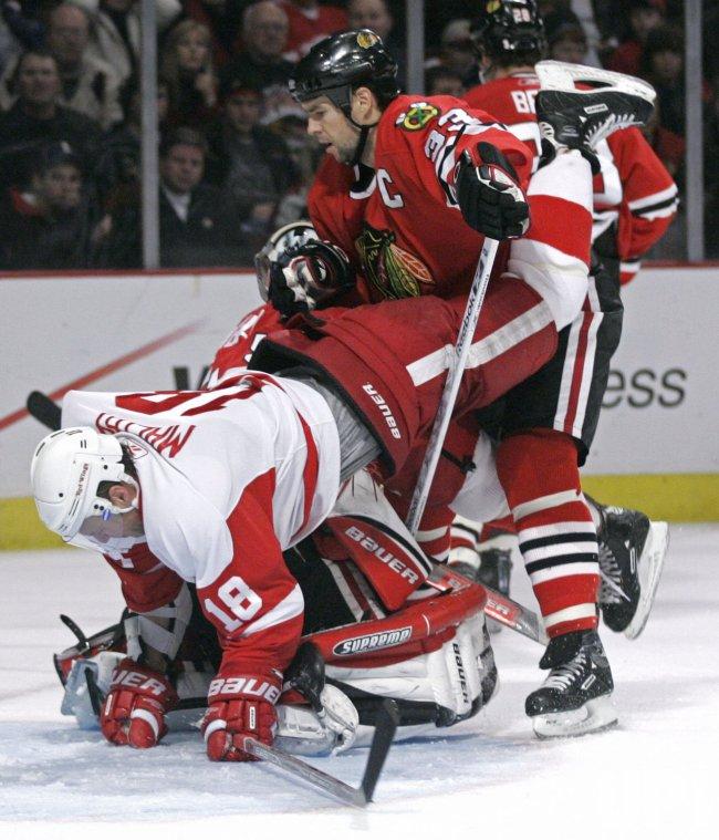 NHL DETROIT RED WINGS VS CHICAGO BLACK HAWKS