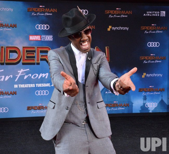 "J.B. Smoove attends the ""Spider-Man: Far From Home"" premiere in Los Angeles"