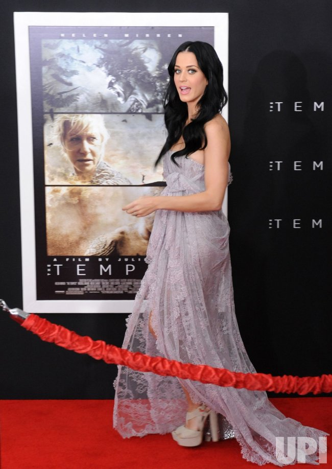 "Katy Perry attends ""The Tempest"" premiere in Los Angeles"