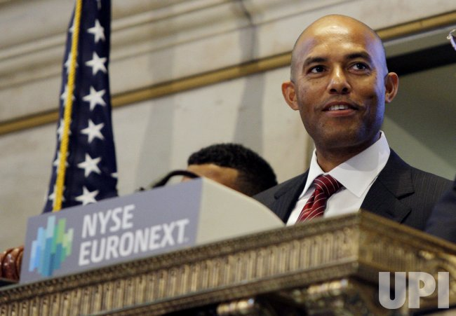 New York Yankees Mariano Rivera at the NYSE In New York