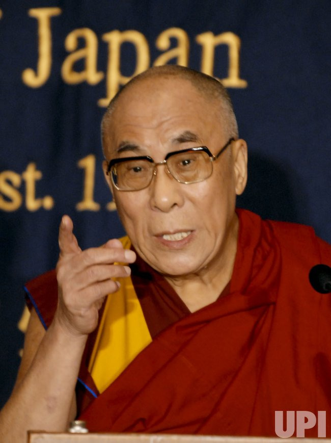 The 14th Dalai lama visits to Japan